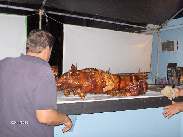 OUR WHOLE PIG ROAST