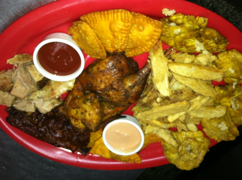 Our Craving Board with Chicken & Pork