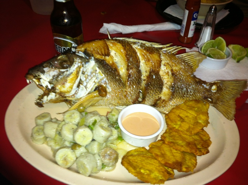 Fresh 3lb Snapper with sides