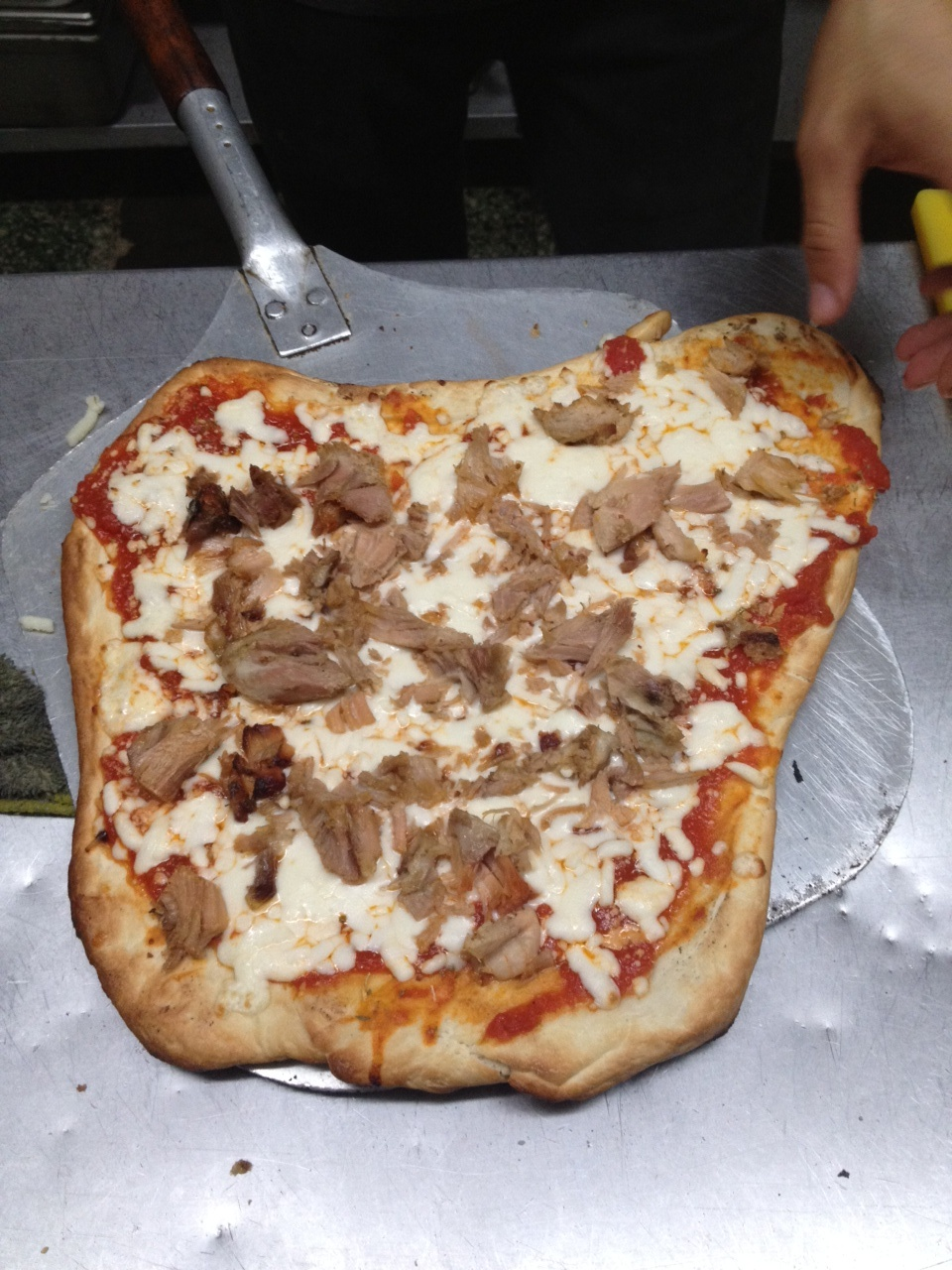 Italian pizza with Lechon